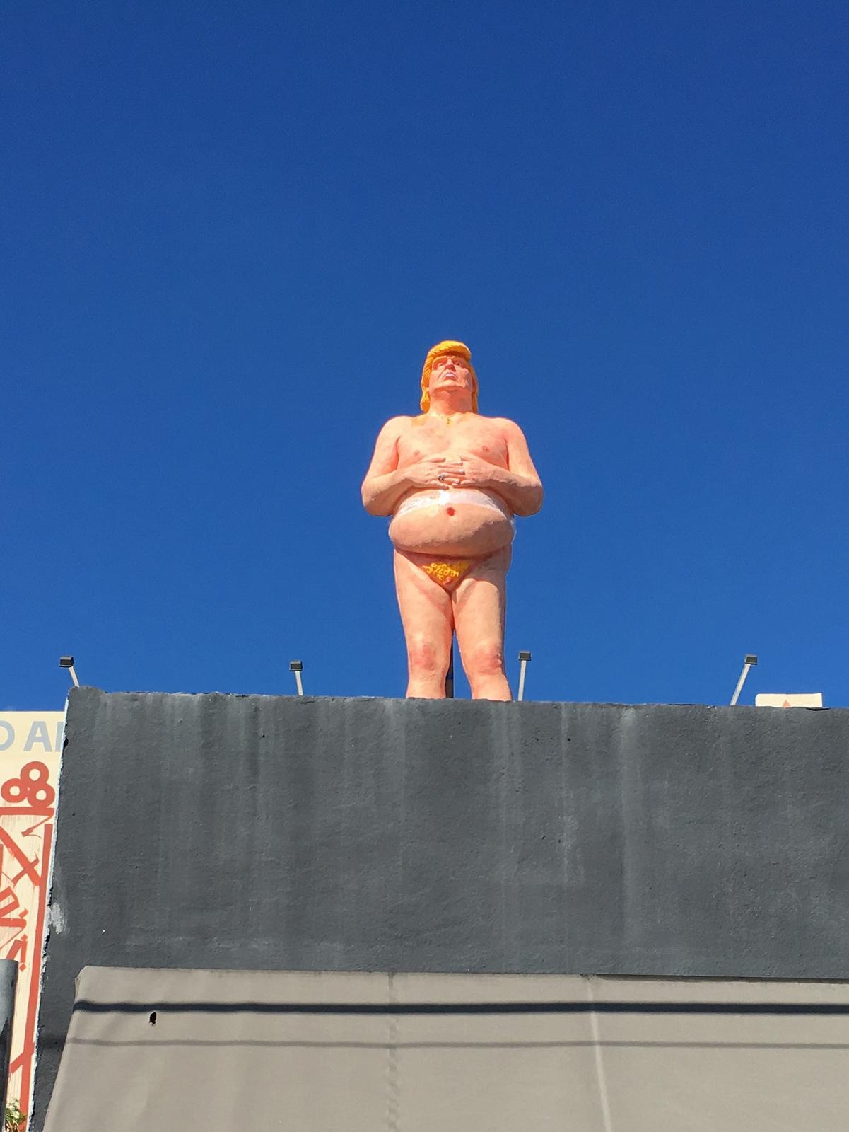 Trump naked